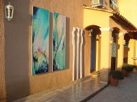2 Wandbilder a 60x180cm